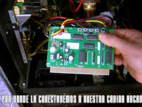 Adaptador pc jamma convierte tu m quina recreativa for Como hacer una maquina recreativa