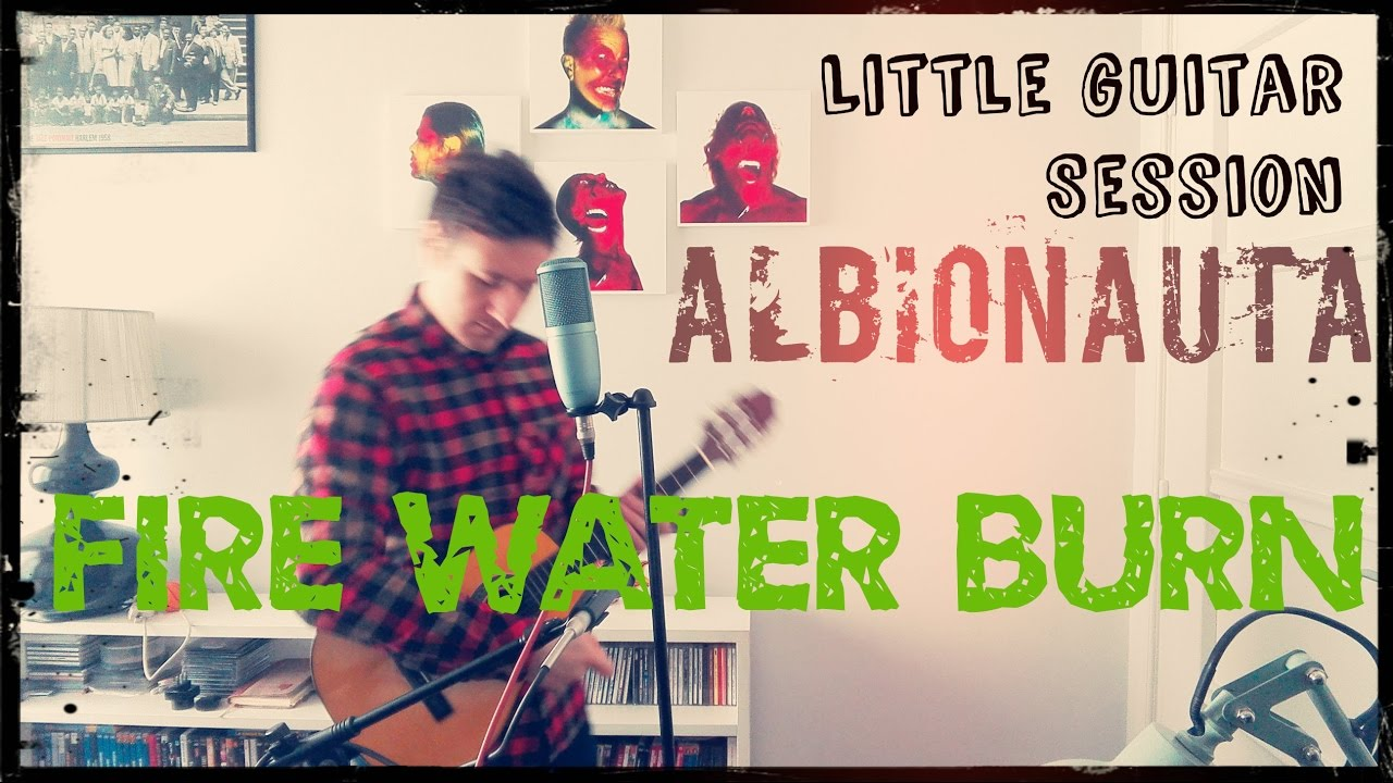 Fire Water Burn (Bloodhound Gang) With Lyrics   By Albionauta (Little  Guitar Session)