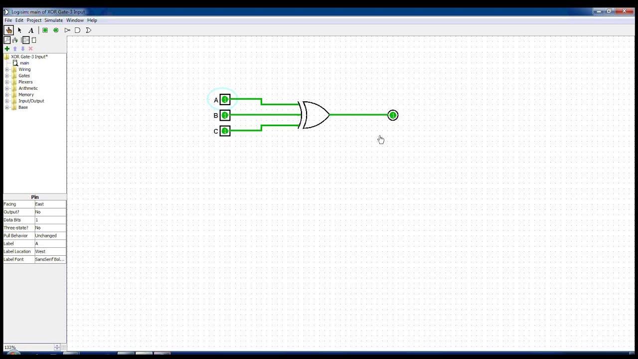 3 input xor gate