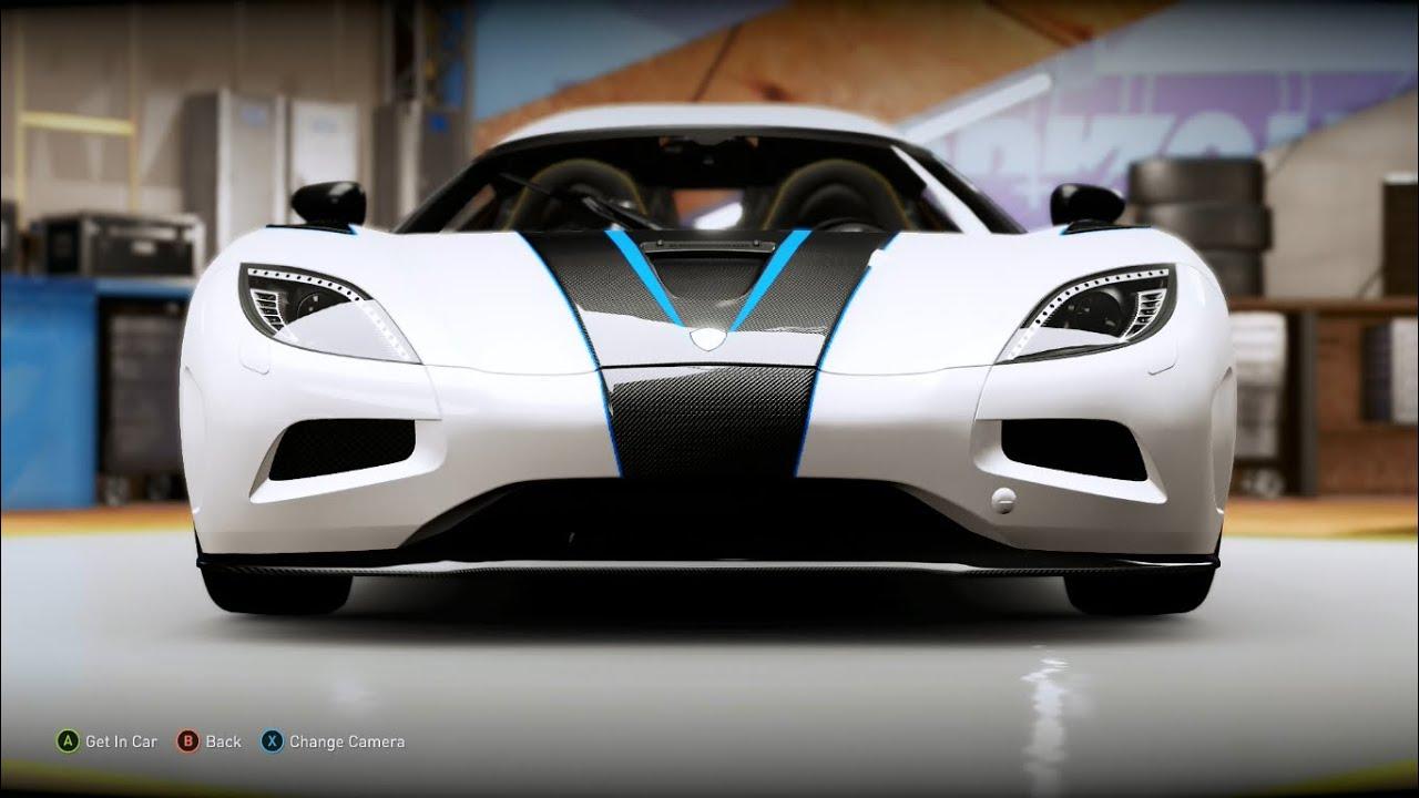 Forza Horizon 2 Design #4 - Koenigsegg Agera R Replica ...