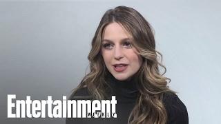 Melissa Benoist Explains How Supergirl Would Defeat Batman | Entertainment Weekly