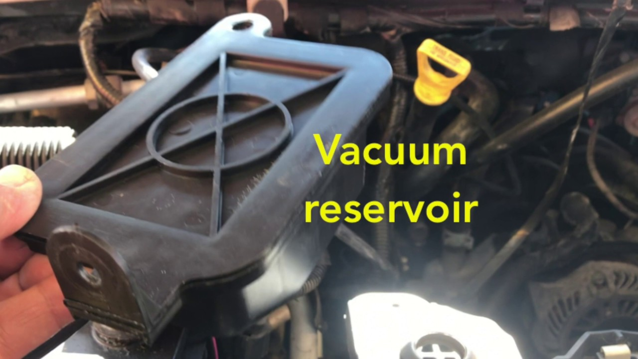Ford Van Vacuum Reservoir Easy Fix