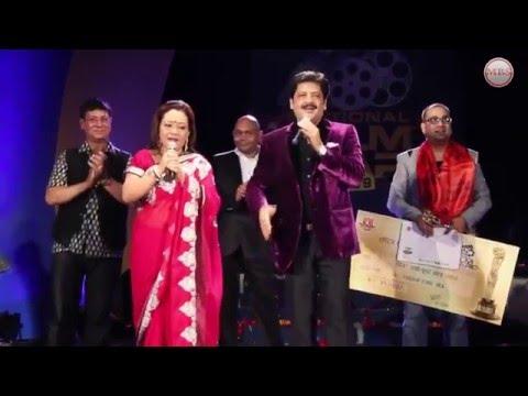 Udit Narayan Jha singing Nepali Song || Live Stage || Performance
