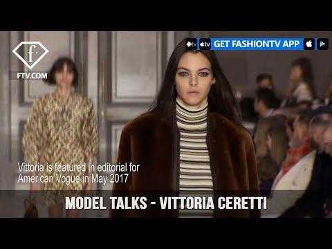 Model Talks Fall/Winter 2017-18 Vittoria Ceretti | FashionTV