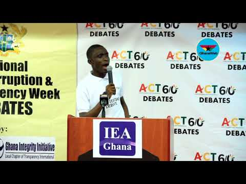 IEA inter-tertiary debate: Accra Technical University vs Central University – Round 2