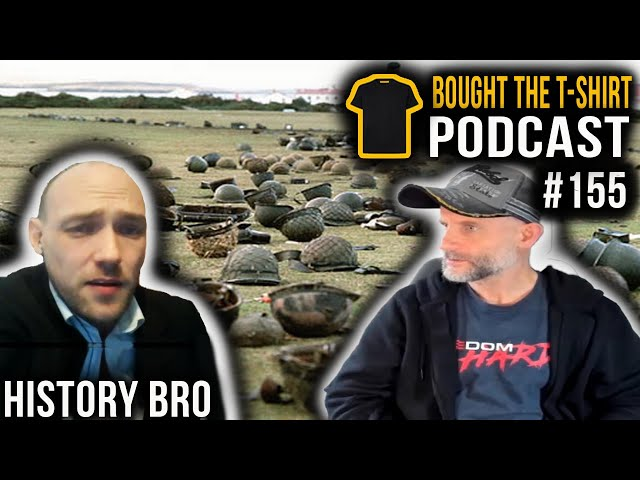 History Bro | The Falklands Conflict | Bought The T-Shirt Podcast