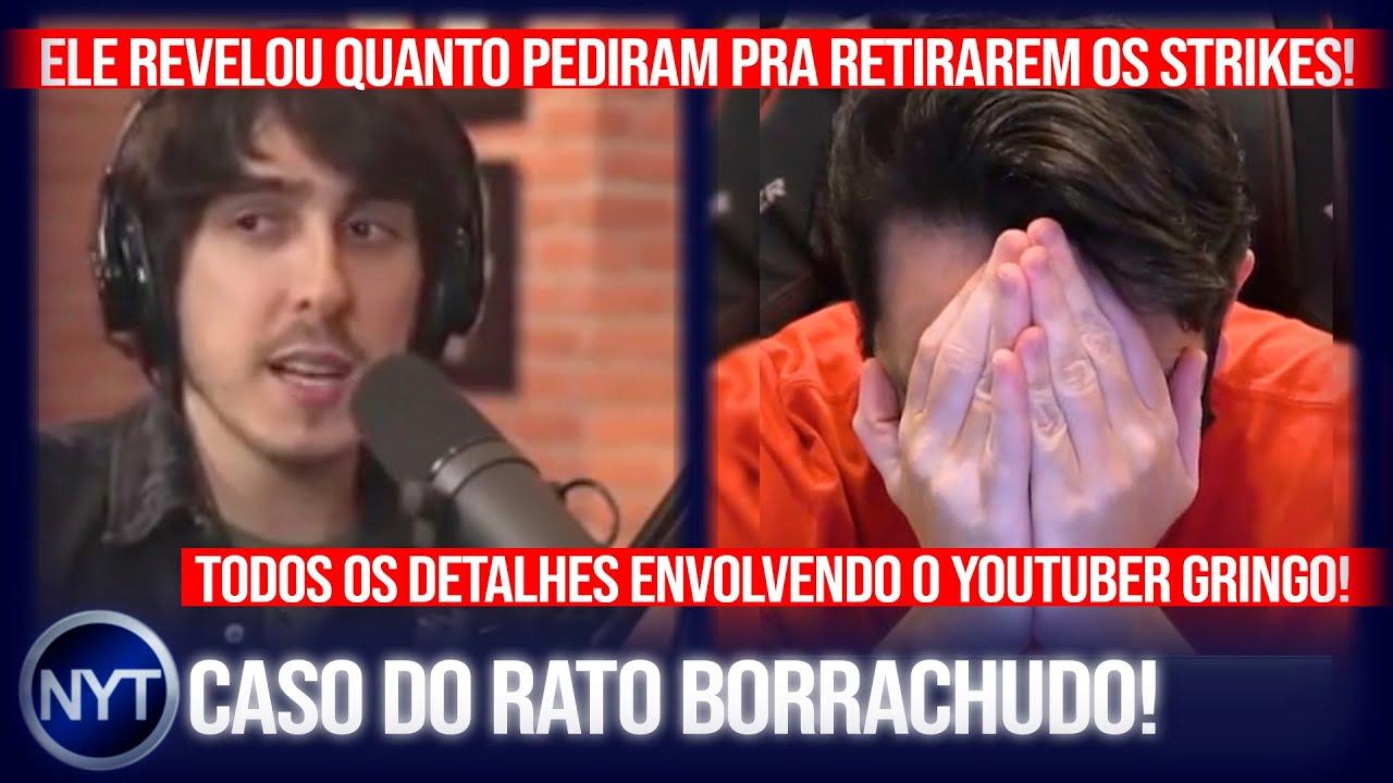Felipe Castanhari revela o valor da extorsão que o Rato Borrachudo sofreu e conta todos os detalhes