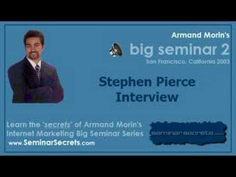 Big Seminar 2 - Armand Morin Interviews Stephen Pierce