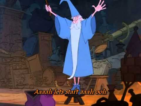 The sword in the stone - Higitus Figitus