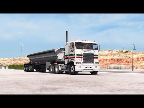 ATS 1.29 New Mexico DLC Freightliner FLB Holbrook - Albuquerque