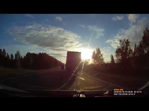 Конфликт автолюбителей и дальнобойщиков по рации. 15 канал. (18+)