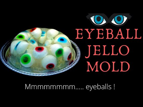 Eyeball Jello Mold