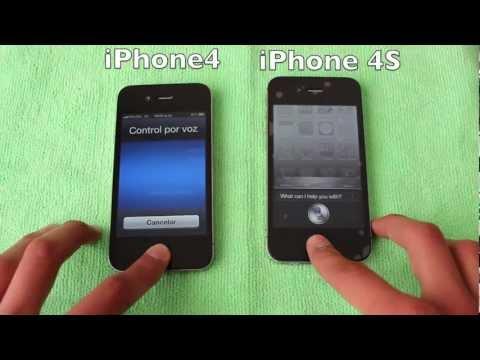 iPhone 4S vs iPhone 4 ESPAÑOL