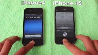 iPhone 4S vs iPhone 4 ESPAÑOL(Hola que tal, en este video les traigo la comparación del iPhone 4S contra el iPhone 4 de apple. Vean el video hasta el final y verán cuál les recomiendo mas y ..., 2011-12-09T07:44:42.000Z)