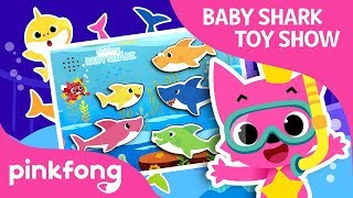 Hide'n Seek with Shark Family | Baby Shark Toy Show | Pinkfong Songs for Children