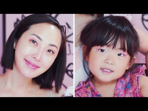 My 4 Year Old Does My Makeup | Chriselle Lim thumbnail