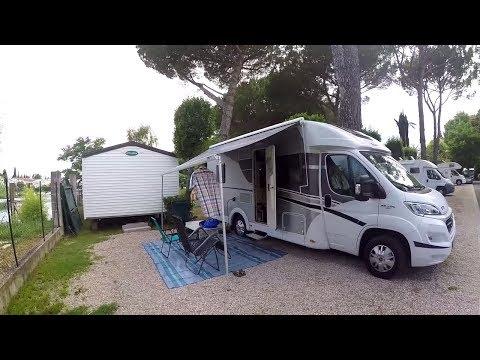 Путь на Лазурный берег. Обзор кемпинга в Каннах и Ницце. Часть 6.#Ницца #camping #автодом #кемпер