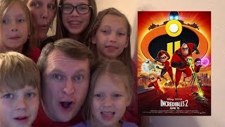 SawItTwice - Incredibles 2 Official Trailer Live Reaction