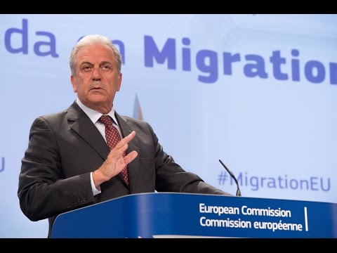 Commissioner Avramopoulos' remarks at the presentation of the European Agenda on Migration