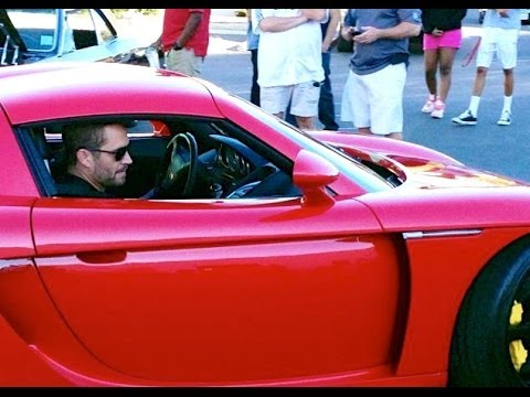 RAW Footage 1/3: Paul Walker & Roger Rodas Crashed Porsche Carrera GT 0479