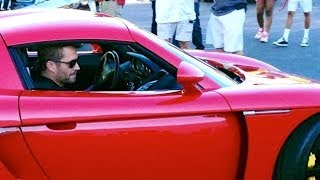 RAW Footage 1/3: Paul Walker & Roger Rodas Crashed Porsche Carrera GT