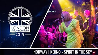 KEiiNO - Spirit in the Sky (Norway) | LIVE | OFFICIAL | 2019 London Eurovision Party