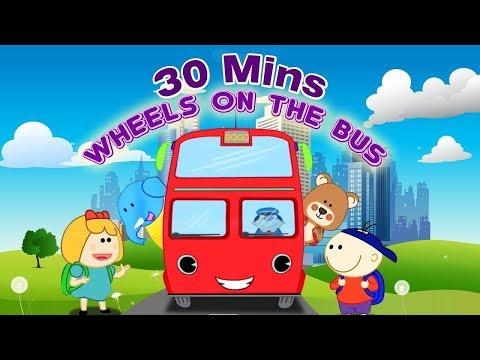Wheels on the Bus with Story & Many More Famous Nursery Rhymes Compilation - Lattu Kids
