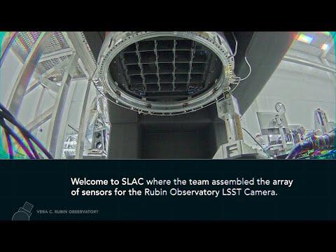 Rubin Observatory Camera Assembly TimeLapse