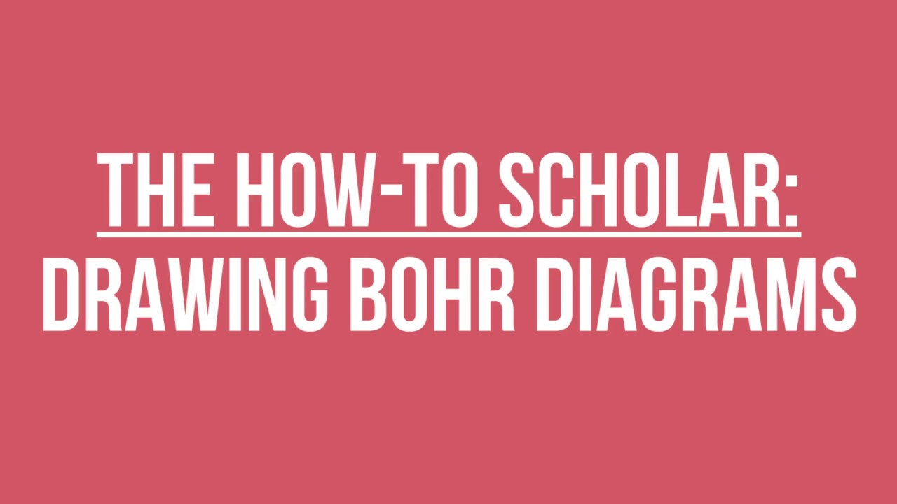How to draw bohr diagrams youtube how to draw bohr diagrams pooptronica Choice Image