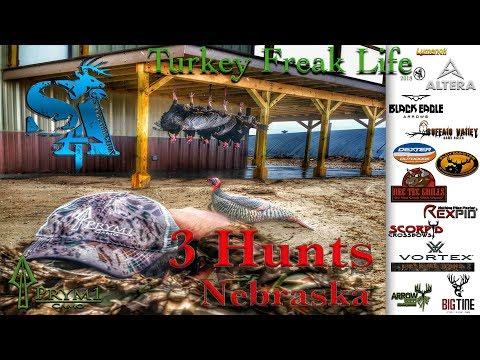 2018 Nebraska Turkey Hunting (Turkey Freak Life) Show 1
