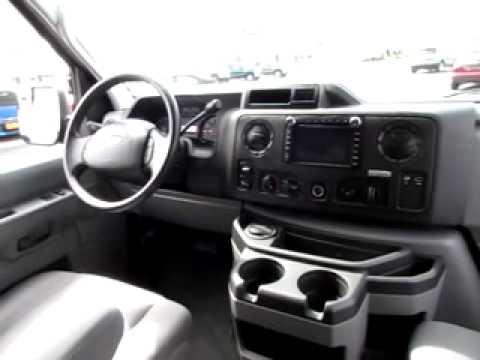 Ford Super Duty >> B00076 Black 2011 Ford E 350 XLT Super Duty Advance Trac ...