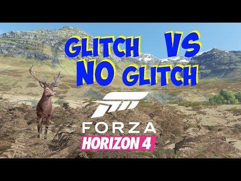 Forza Horizon 4 Glitch VS No Glitch thumbnail