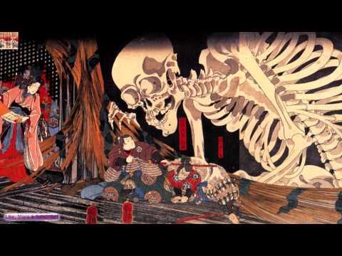 Creepy Japanese Music | Gashadokuro | Ambient Japanese Koto & Flute