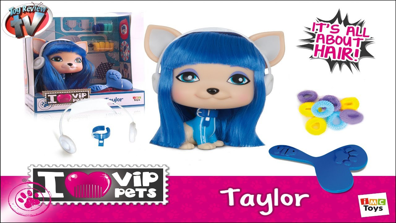 I ♥ VIP Pets Taylor Doll Toy Review, IMC Toys