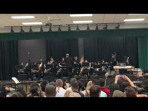 Innovation middle school jazz band: What'd I say?