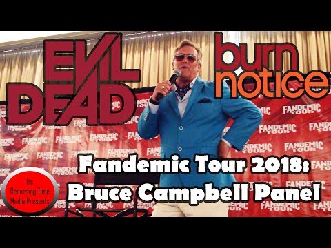 demic Tour 2018: Bruce Campbell Panel
