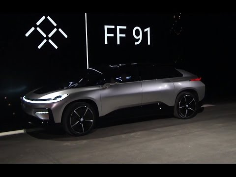 Thumbnail: Faraday Future Unveils Flagship Electric Сrossover FF 91