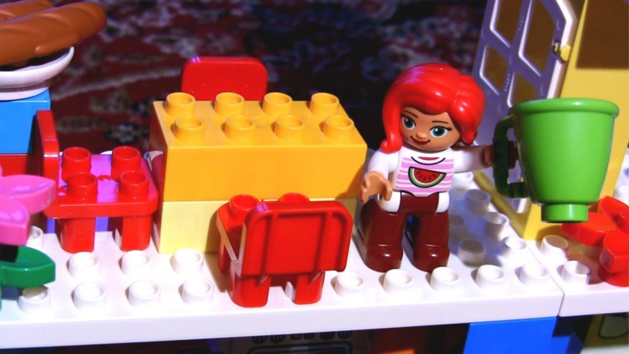 Zabawki Dla Dzieci Klocki Lego Duplo Dom Rodzinny Recenzja Youtube