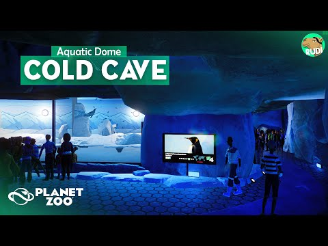 Underwater Cold Cave AQUATIC DOME Planet Zoo Aquatic Pack Speedbuild 06 |