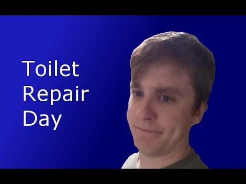 The Broken Crapper - Vlog