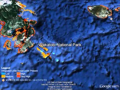 Google Earth Tour Of Reefs At Risk (Full Length)
