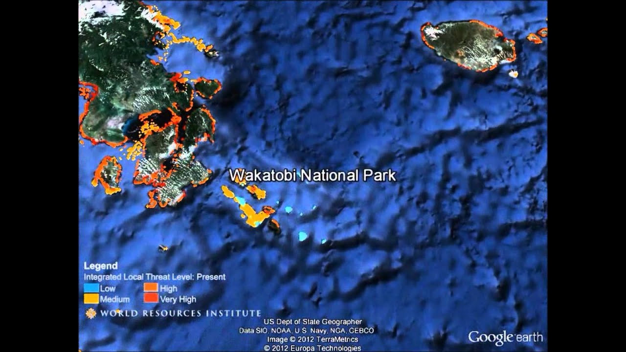 Google Earth Tour Of Reefs At Risk Full Length YouTube - Google earth map of southeast us