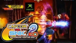Capcom Vs. SNK 2 E.O. playthrough (Xbox)