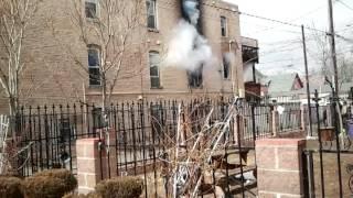 Denver apartment fire 34th & Franklin
