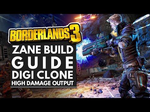Borderlands 3 Best Builds | HIGH DAMAGE Zane Build Guide