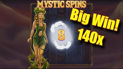 Big Win! 140x - Lots of Bonus Rounds - Online Slots - Casumo - The Reel Story