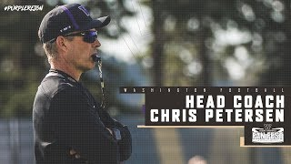 Football: Chris Petersen Spring Preview Pac-12 Network Interview