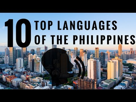 Top 10 Languages Spoken in Philippines