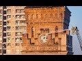Empress Market Clock Tower Saddar Karachi Washed With Water clean Clock tower Empress   Market wash