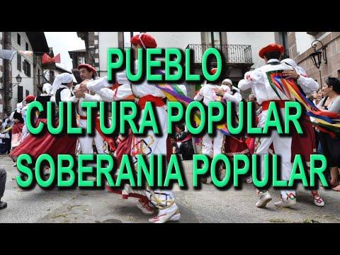 PUEBLO, CULTURA POPULAR, SOBERANIA POPULAR